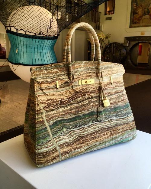 Moda y Arte: Las piezas de lujo en mármol de Barbara Ségal
