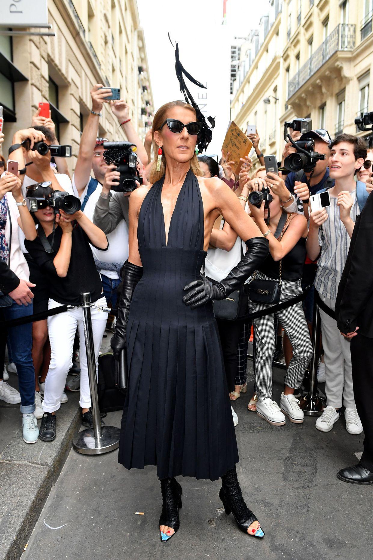 Celine Dion lo hace de nuevo: Es la reina de la fashion week en Paris