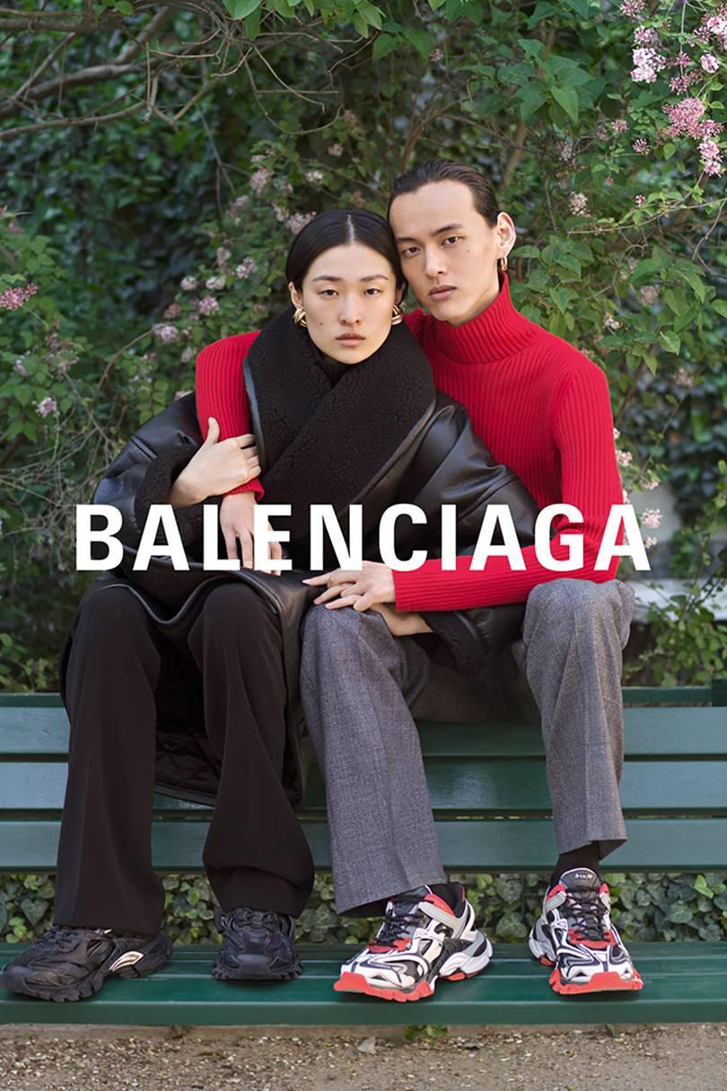 reacción dividendo Alrededores  La nueva campaña de Balenciaga: Puro amor - Viste la Calle