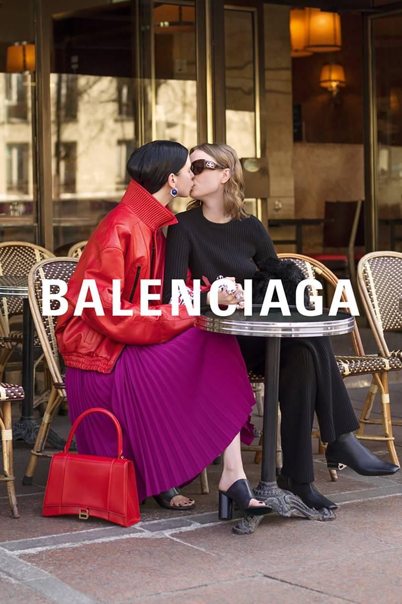La nueva campaña de Balenciaga: Puro amor
