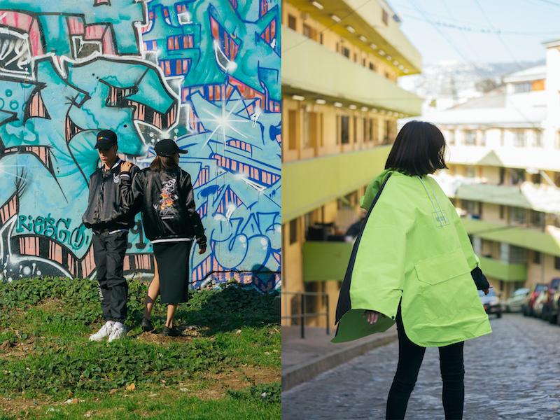 Límites, la editorial que Club Particular realizó en Quebrada Márquez de Valparaíso junto a Metro21