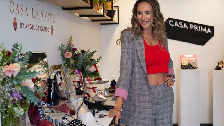 La colección de zapatos de Casa Laporte + Angélica Castro
