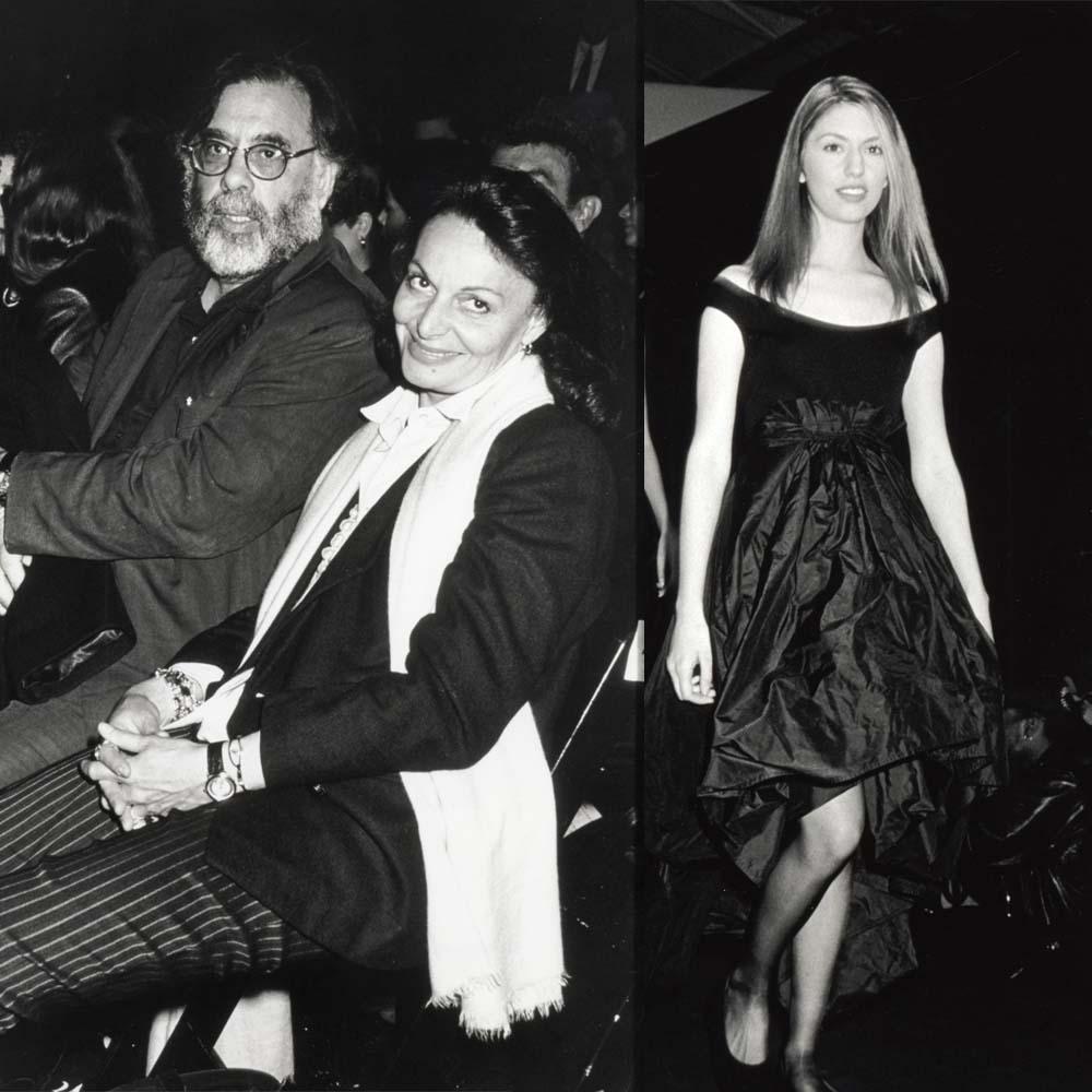 Sofia Coppola, la modelo