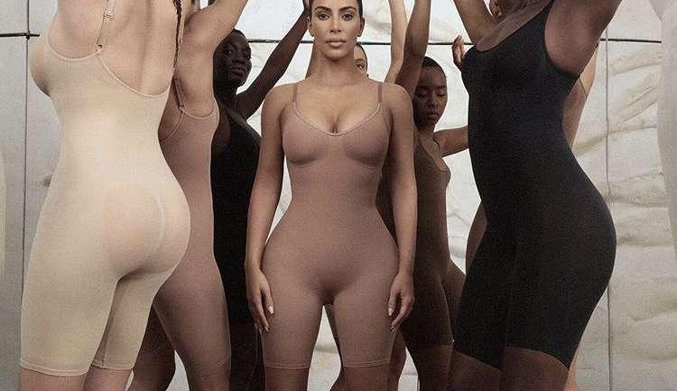 SKIMS, el nuevo nombre de la polémica línea de fajas de Kim Kardashian West