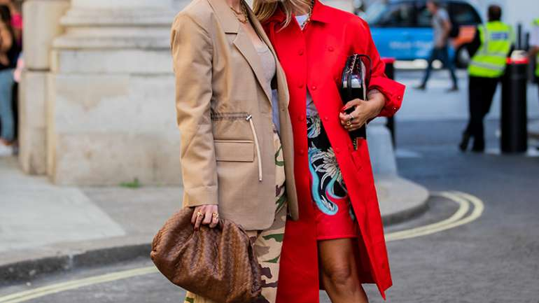 Lo mejor del street style de London Fashion Week S/S 2020