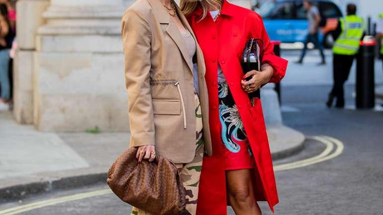 Lo mejor del street style de London Fashion Week S/S 2020