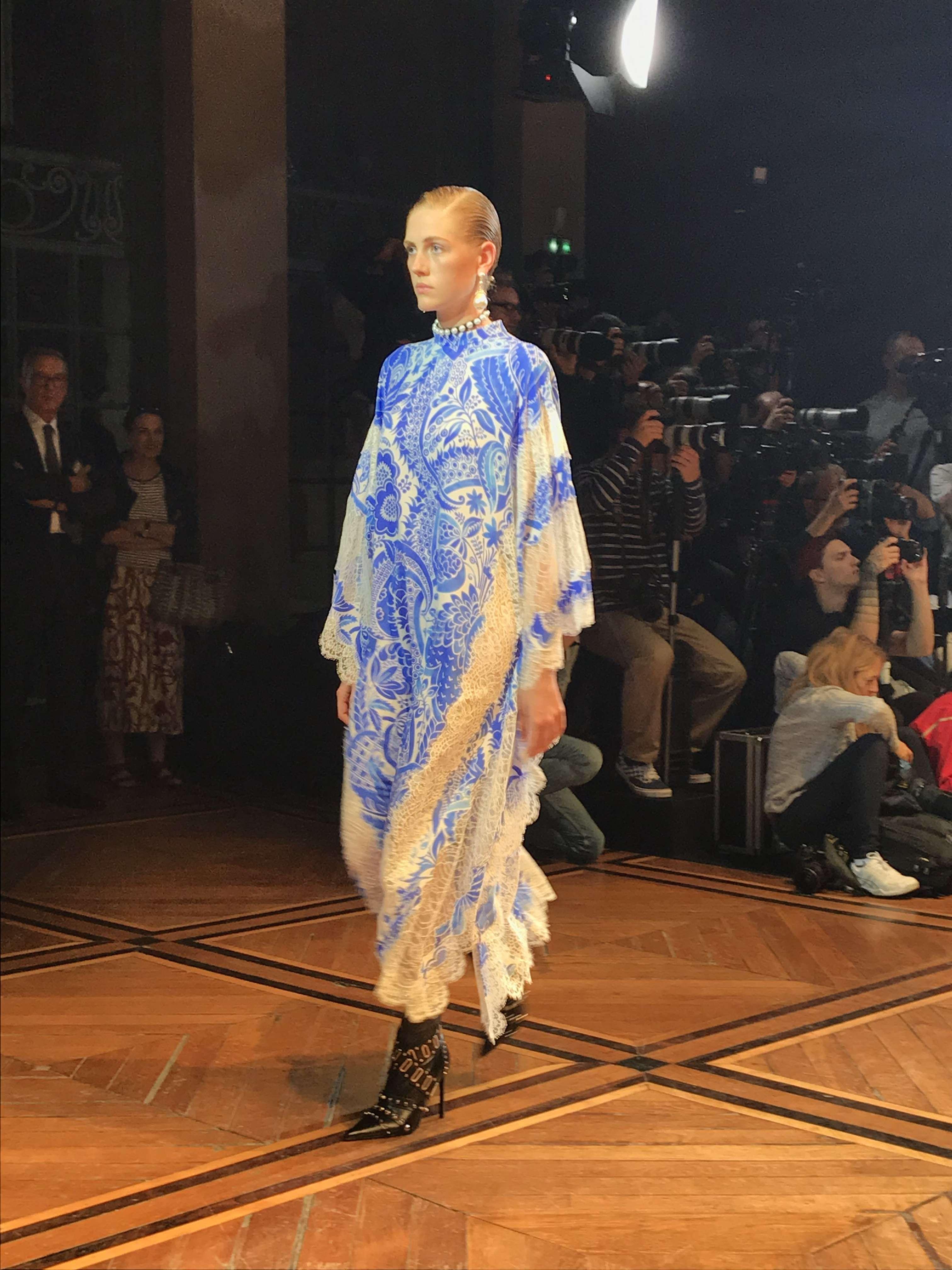 VisteLaCalle en París Fashion Week: El desfile de Andrew Gn S/S 2020