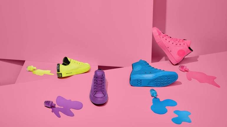 OPI x Converse, la electrizante colaboración de esmaltes y zapatillas