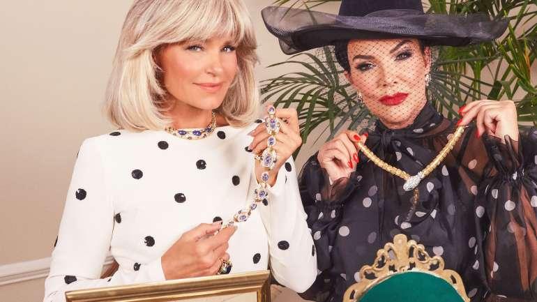 """Kris Jenner y Yolanda Hadid se transforman en las divas de """"Dinastía"""""""