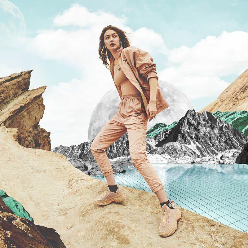 La nueva colección de Reebok x Gigi Hadid