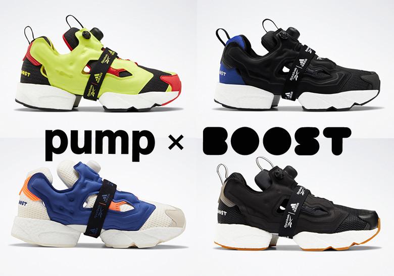 Reebok y Adidas fusionan la icónica Instapump Fury con la revolucionaria tecnología Boost