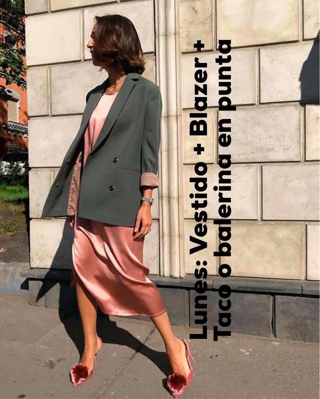 Las propuestas de looks para el trabajo según la cuenta de Instagram de Carola Montenegro