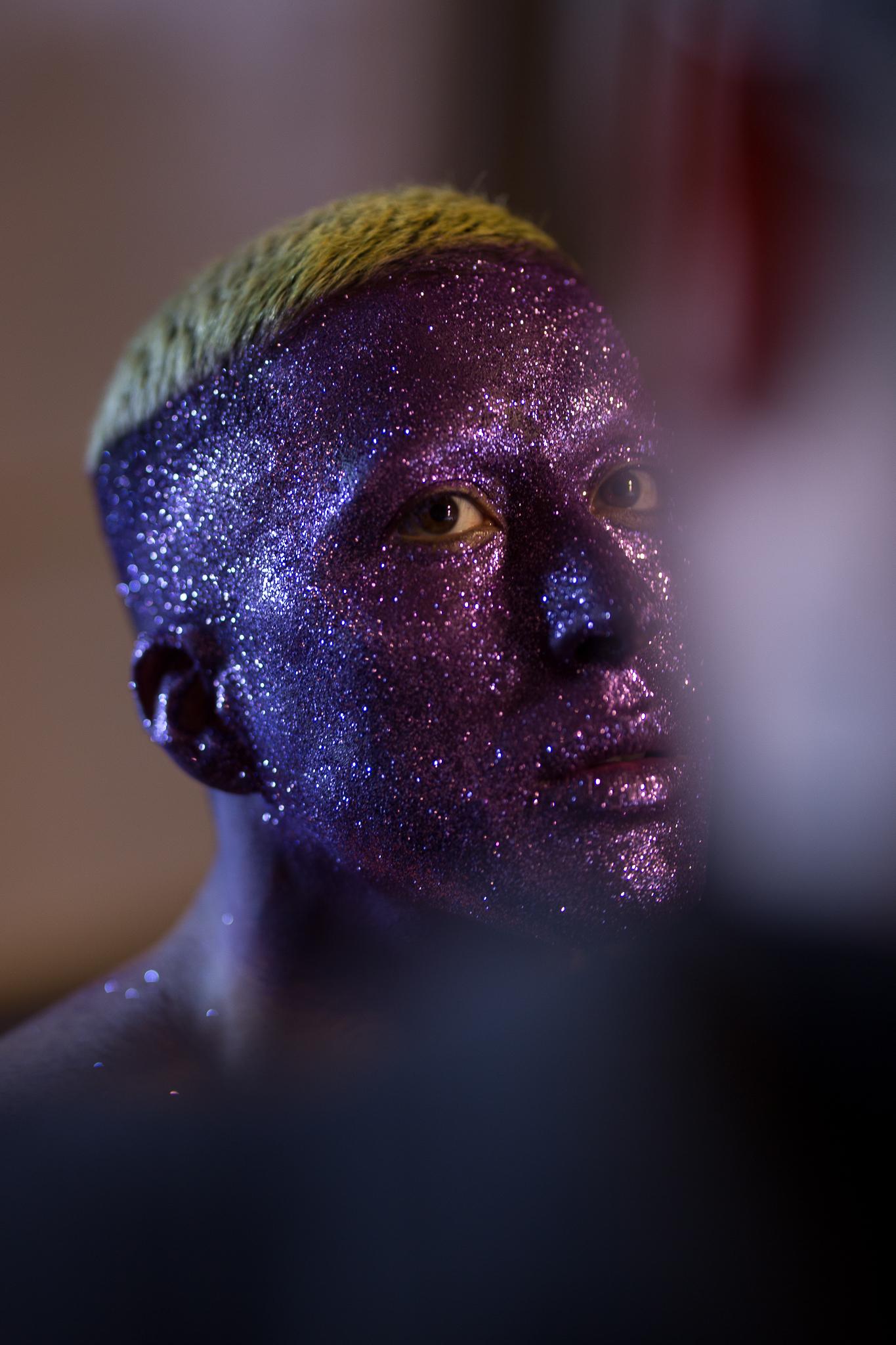 El maquillaje de Marcelo Bhanu para el desfile de Paulo Méndez en Pasarela Valparaíso 2019