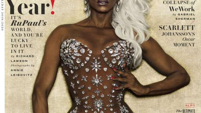 RuPaul hace historia como la primera Drag Queen en la portada de Vanity Fair