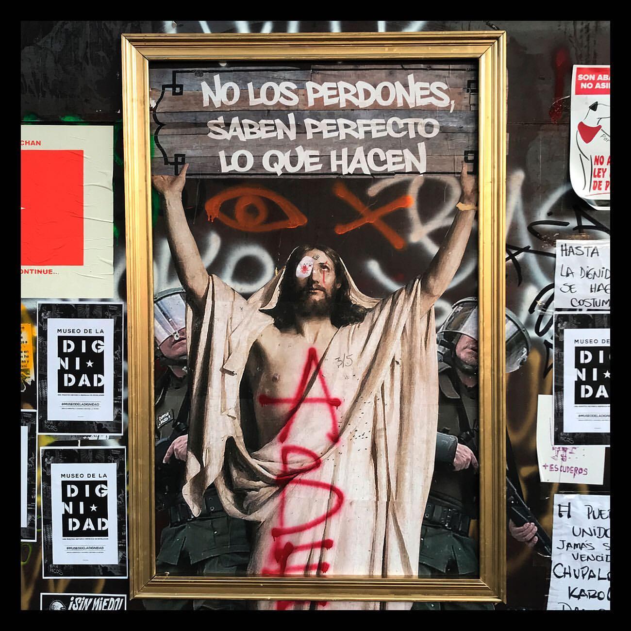 Museo de la Dignidad, el arte callejero en tiempos de revolución