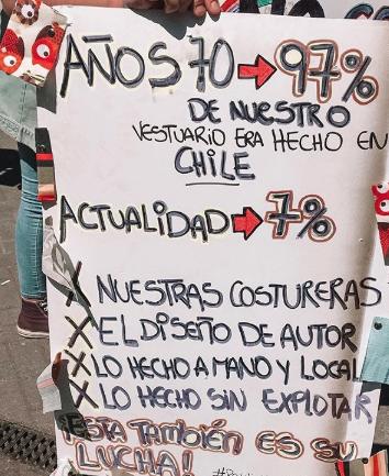 Cómo el arte, la moda y la música se han hecho presentes en las manifestaciones chilenas