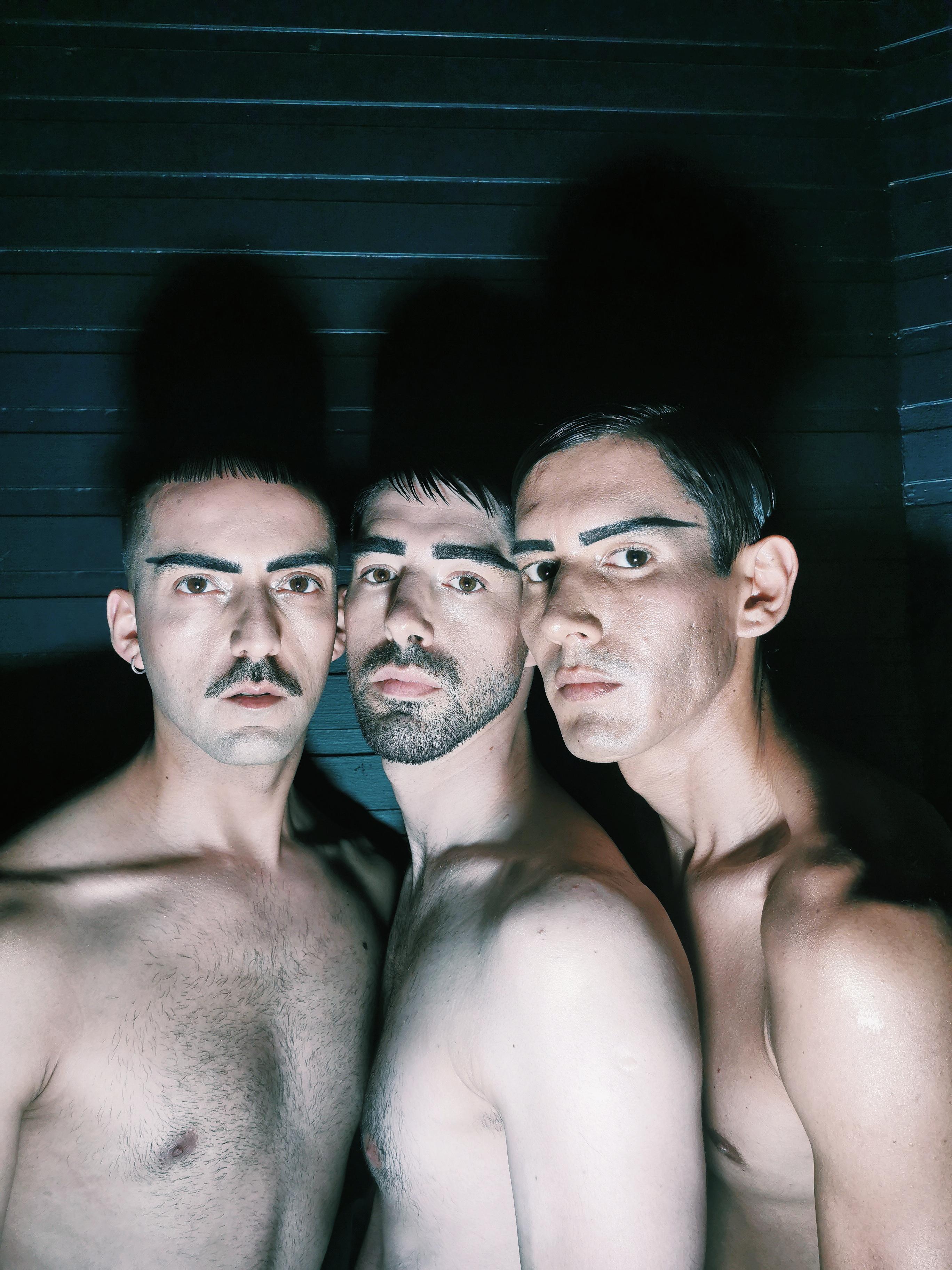 Desfile Cosmos: El maquillaje del desfile de Paulo Méndez por Marcelo Bhanu