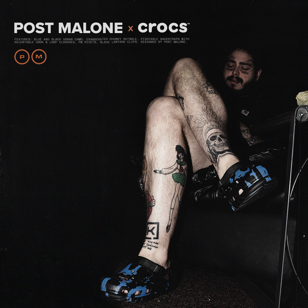 Post Malone X Crocs