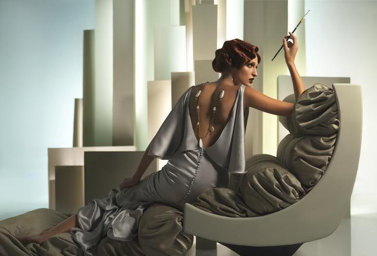 Moda y Arte: Eugenio Recuenco se inspira en Tamara de Lempicka