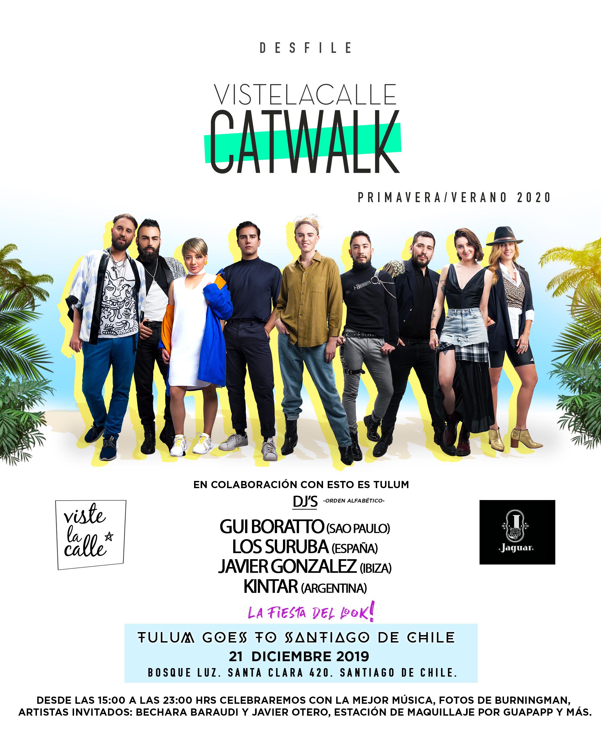 VisteLaCalle Catwalk S/S 2020: el desfile que presentará a la nueva generación de diseñadores chilenos