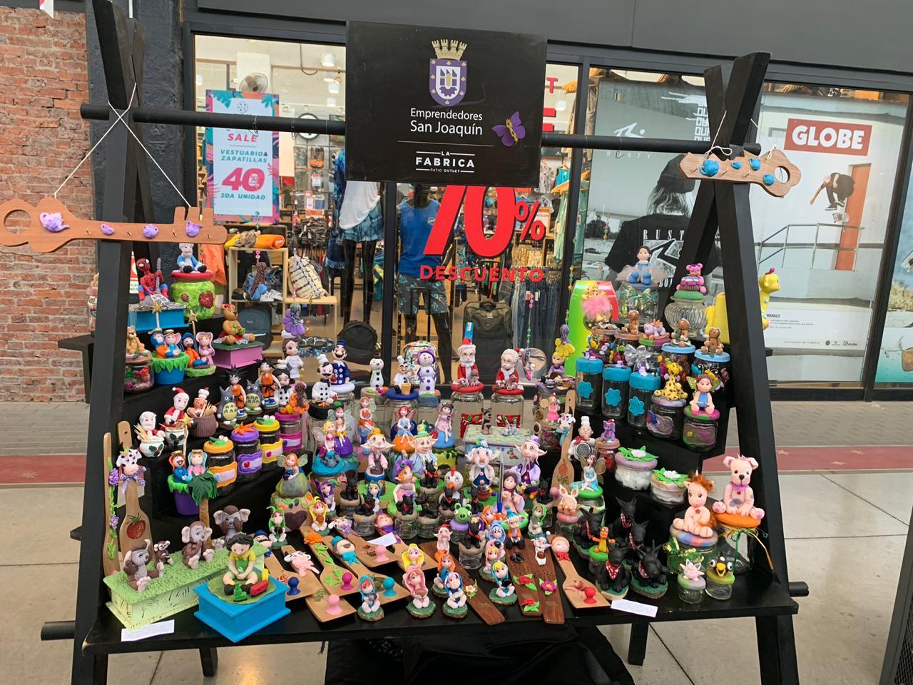Apoyemos las pymes: Feria de navidad de La Fábrica Patio Outlet