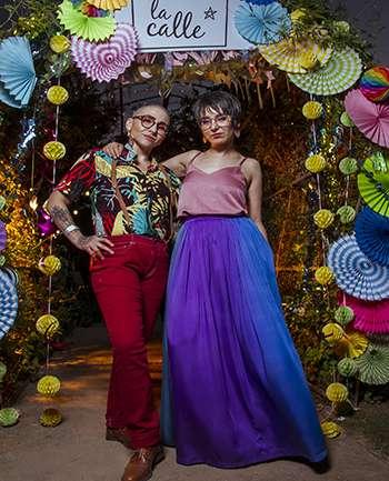 Pilo Naturali Contreras y Camila Huerta