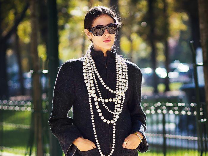 Ideas para usar perlas en tus looks