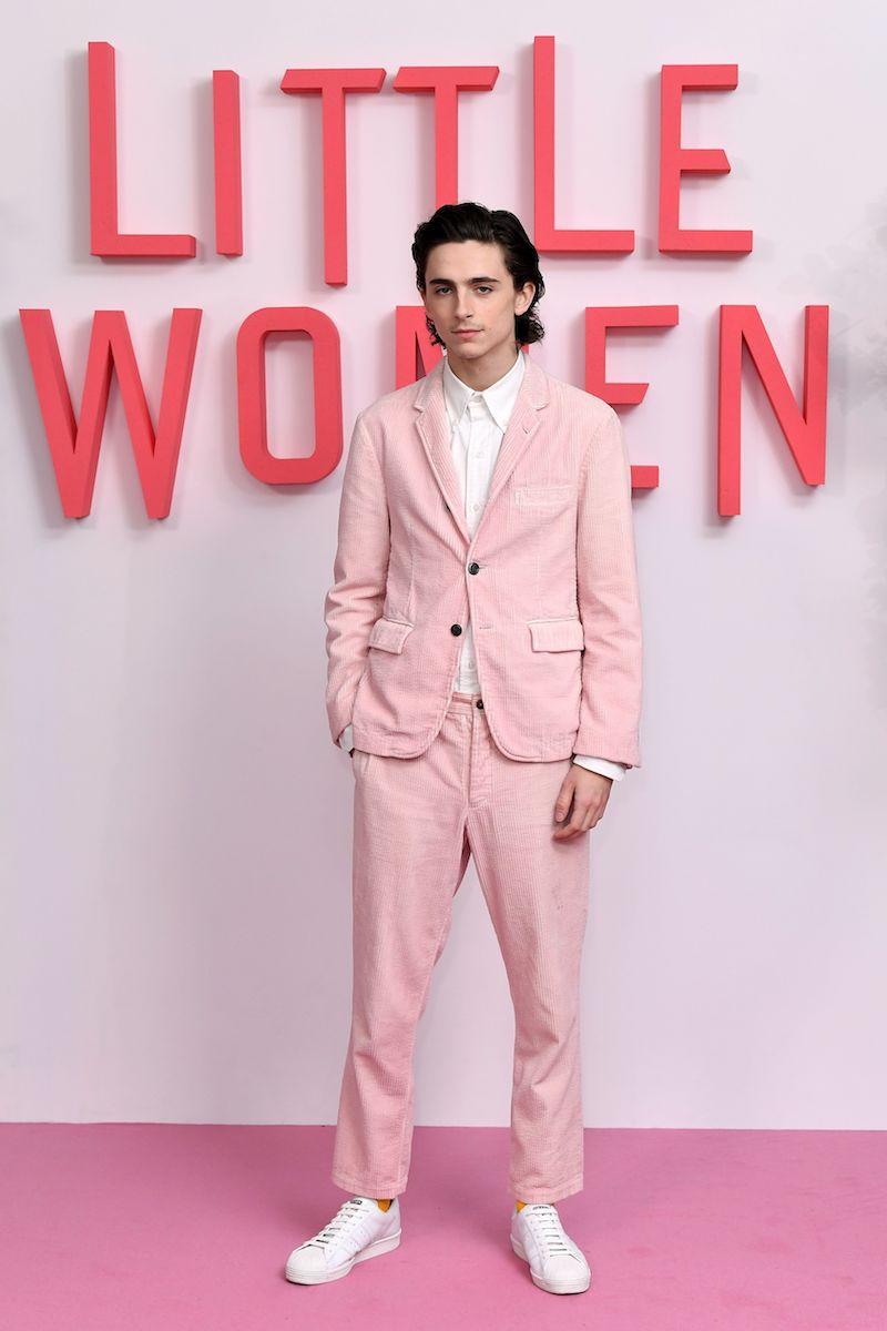 "Lo mejor del 2019: Los looks que lució Timothée Chalamet en el tour de prensa de ""Mujercitas"""