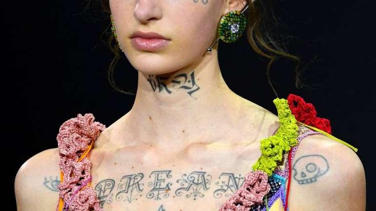 Los looks de maquillaje que impresionaron en el Haute Couture