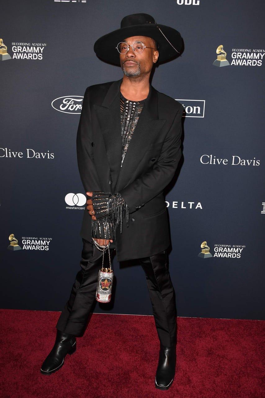 Los mejores looks de la fiesta Clive Davis Pre-Grammys 2020