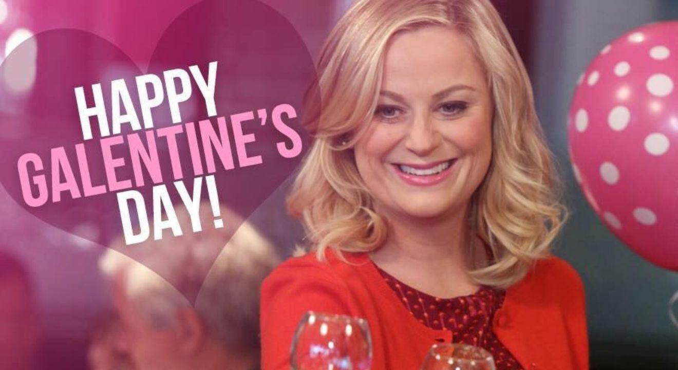 Feliz 13 de febrero, feliz Galentine's Day
