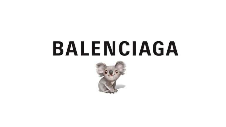 Balenciaga lanza una cápsula de Koala para ayudar a la crisis de incendios en Australia