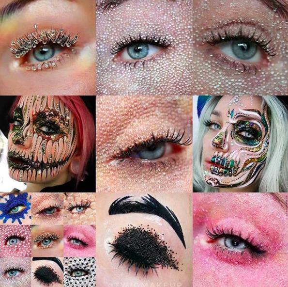 Inspírate con las propuestas de maquillaje de estas cuentas