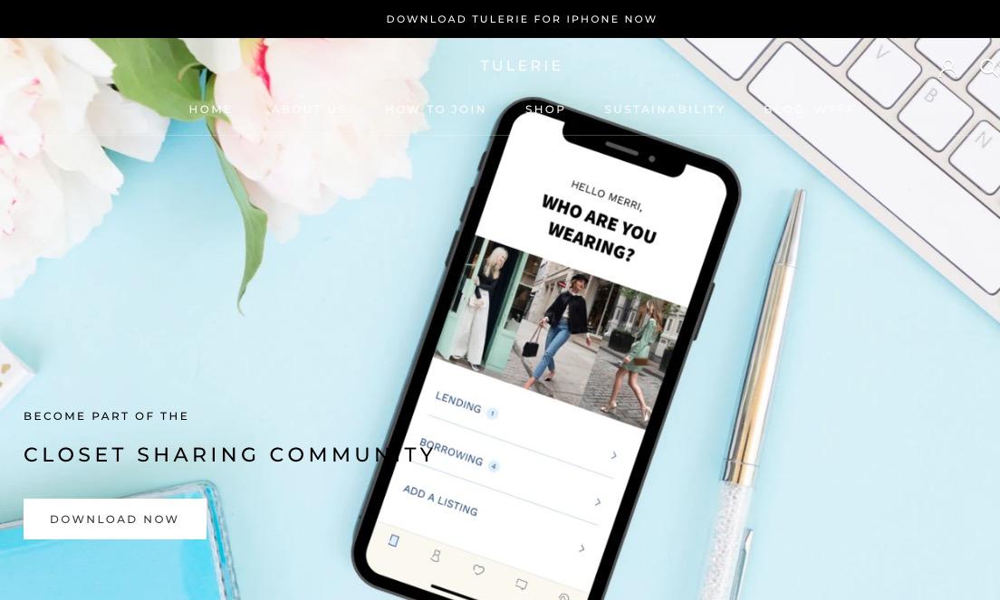 Tulerie, la app que permite arrendar prendas