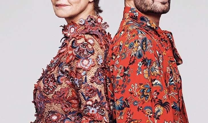Elegancia no gender: La nueva campaña de Givenchy con Marc Jacobs y Charlotte Rampling