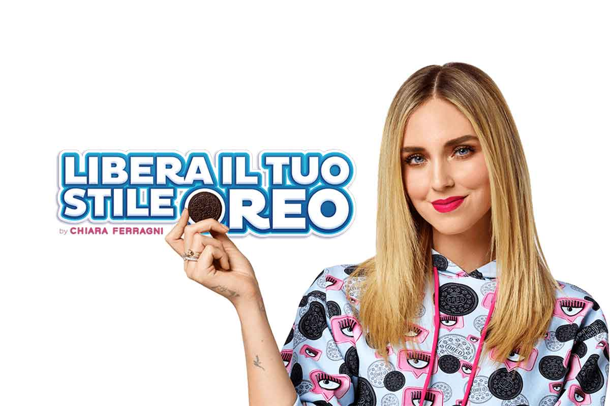 Chiara Ferragni se une a Oreo para lanzar una colección cápsula