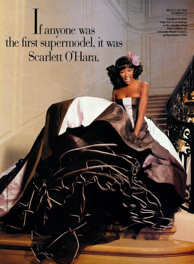 Flashback: Cuando Naomi se convirtió en Scarlet O'Hara