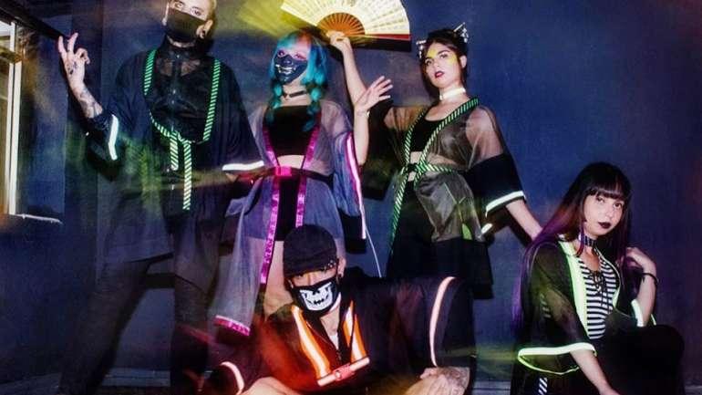 Urban Yokai, los kimonos del diseñador chileno Aleph Vicencio