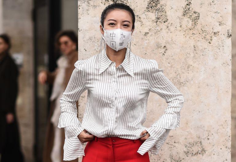 Las mascarillas se encuentran con la moda