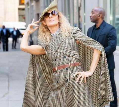Celine Dion, la única capaz de convertir las calles en verdaderas pasarelas