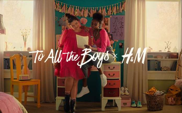La colección de H&M y Netflix inspirada en To All The Boys I've Loved Before