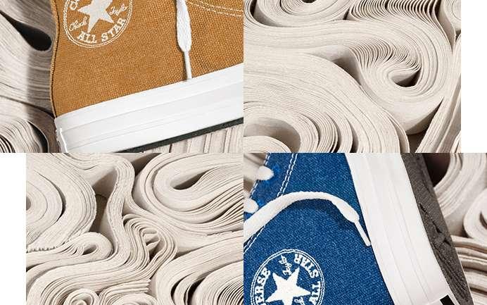 En el mes de la tierra, Converse lanza su colección Renew Cotton