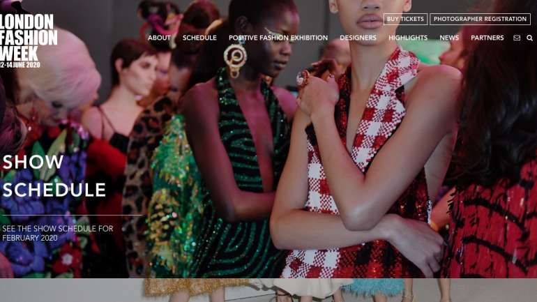 Semana de la Moda neutra y digital para LFW 2020