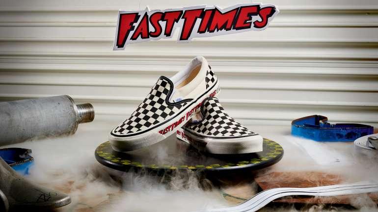 """Vans reeditó sus zapatillas inspiradas en la película de culto """"Fast Times"""""""