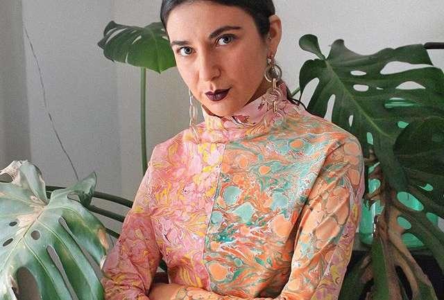 Arte para usar: Las prendas marmoladas de Paz Bustamante @tetrapunkk