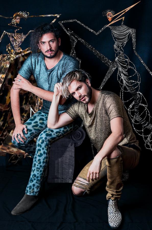 El diseñador Vedran Skorin y el ilustrador Diego Candia se unen para realizar un desfile de moda virtual