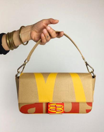@camera60studio, la cuenta que convierte envoltorios de comida rápida en carteras
