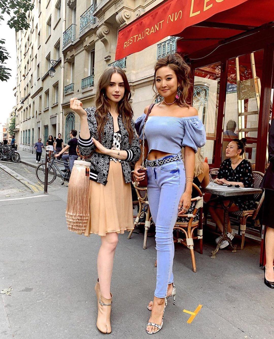 Emily In Paris', la nueva serie de Netflix cuya protagonista es Lily  Collins - Viste la Calle