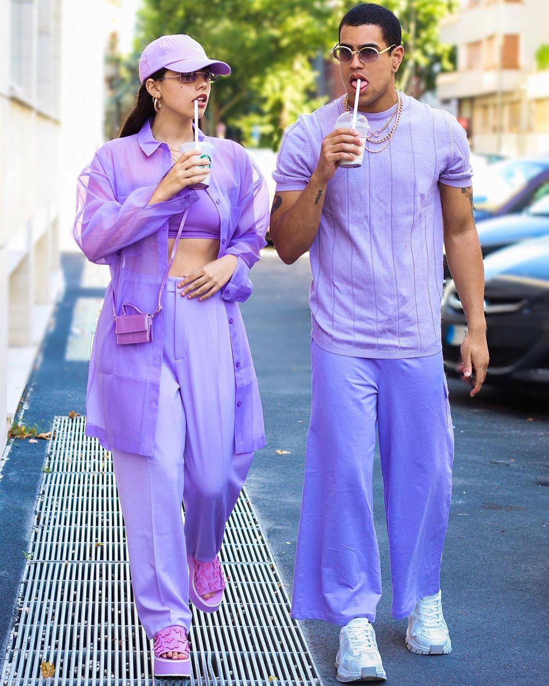 Conoce a @zoomthashit la pareja de Instagram que inspira con sus looks y tendencias monocromáticas