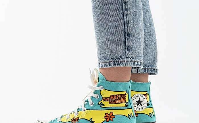 La nueva línea de zapatillas Converse inspiradas en Scooby Doo